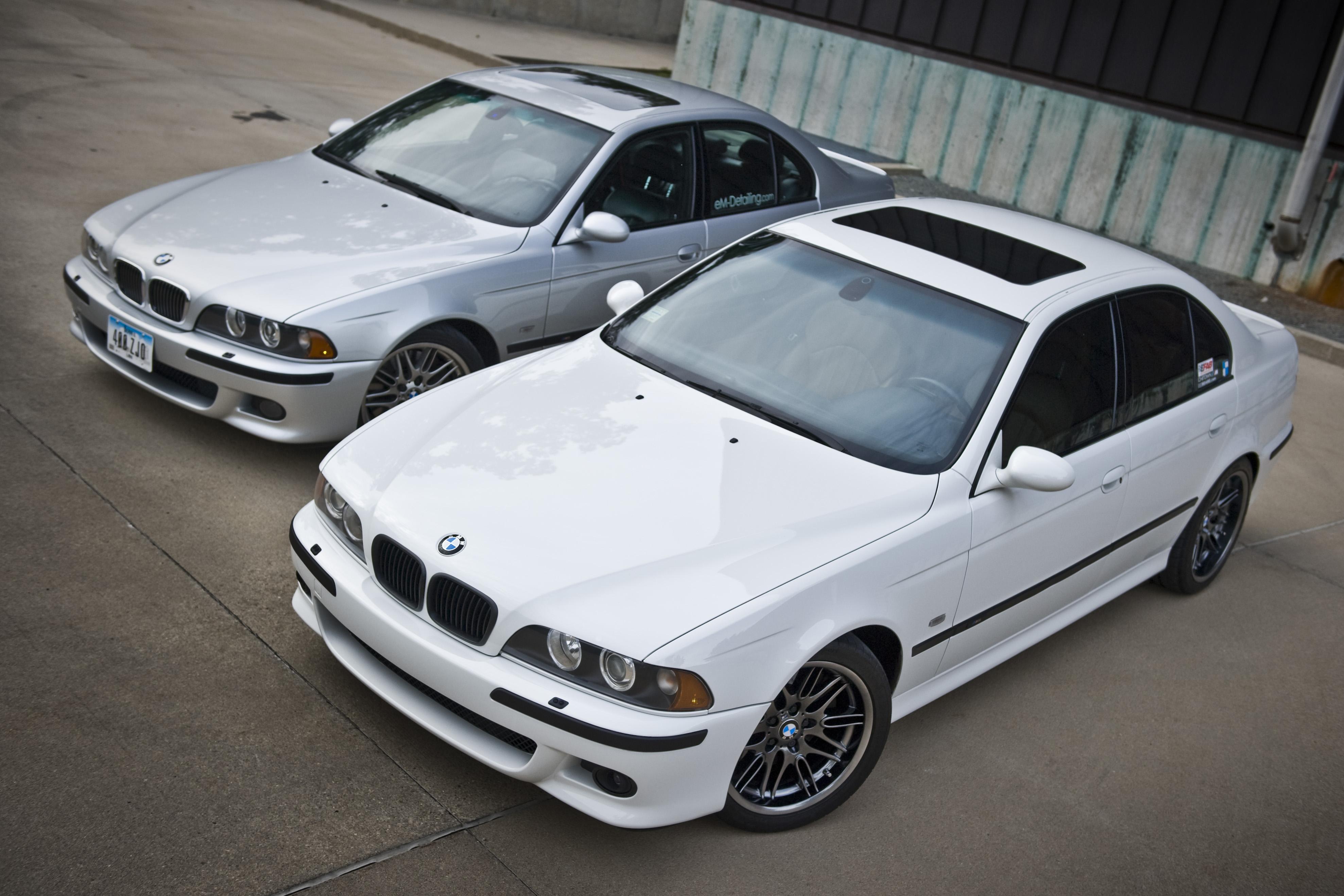 2003 Alpine White E39 M5 Em Detailing