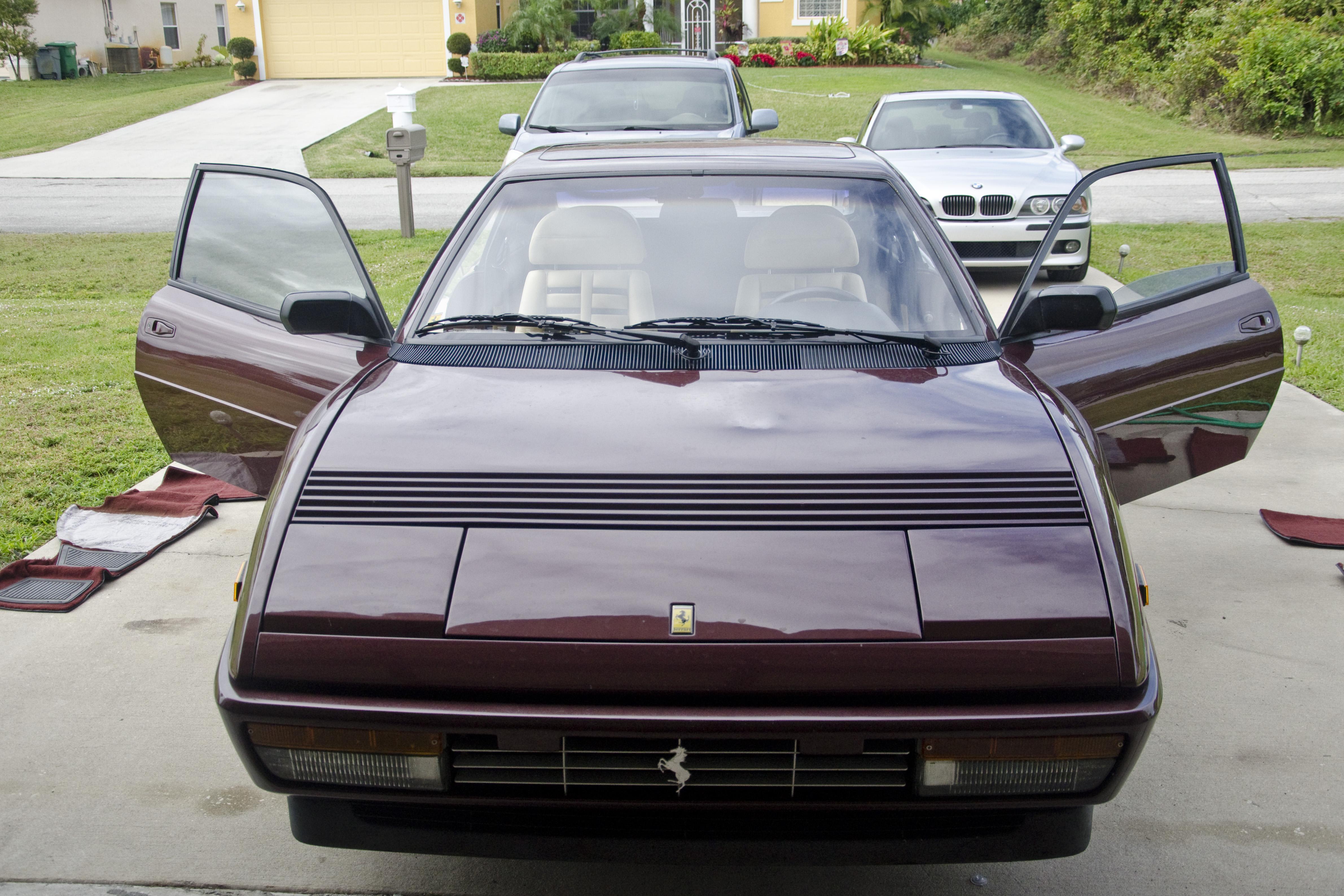 1989 Ferrari Mondial Interior And Exterior Detail Em Detailing