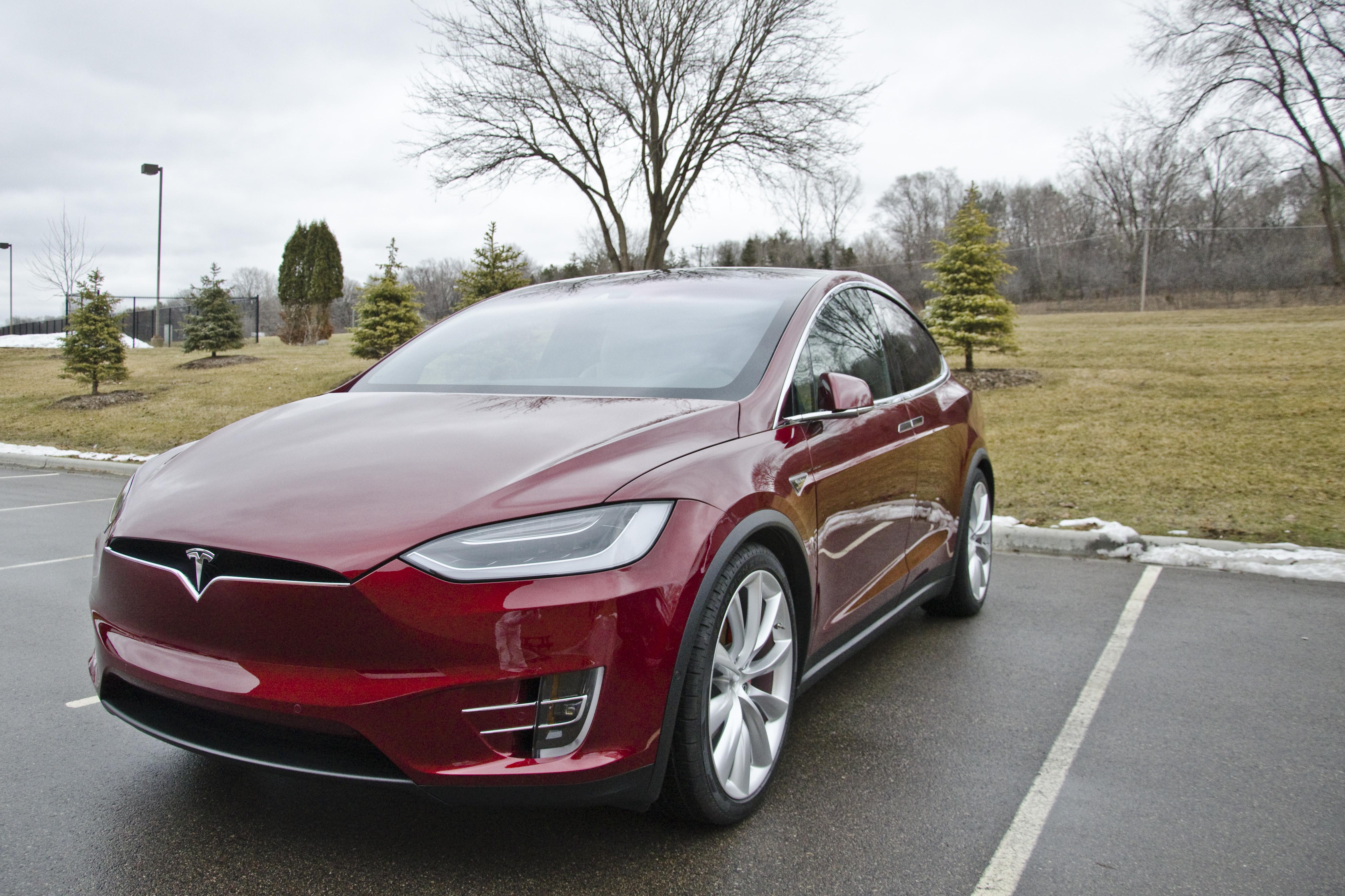Tesla Model X Paint Correction And Opti Coat Pro Em