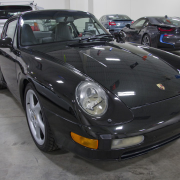 Porsche993 Paint Correction