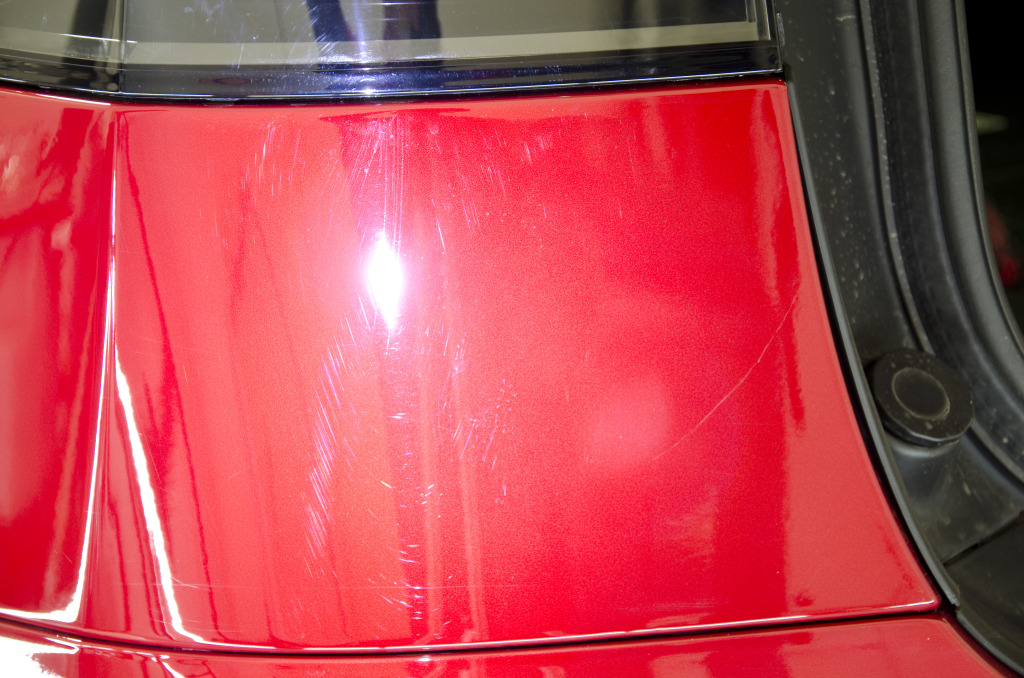 Tesla Model X Paint Correction DSC_2066