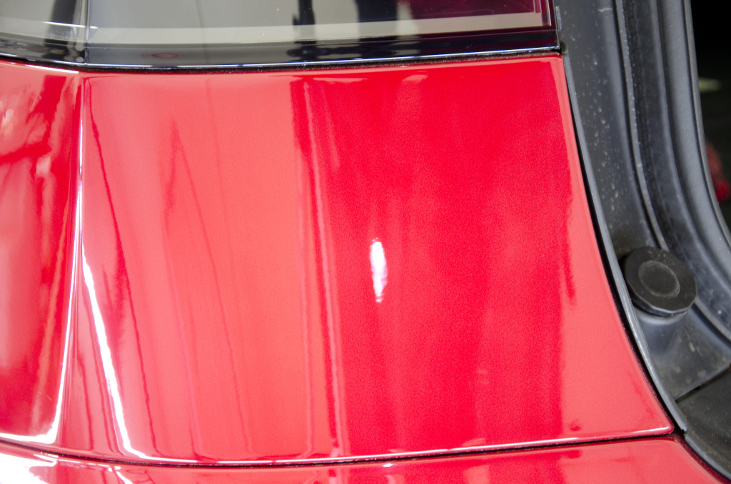 Tesla Model X Paint Correction DSC_2067