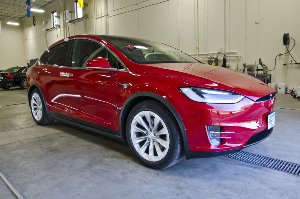 Tesla Model X Paint Correction DSC_2082