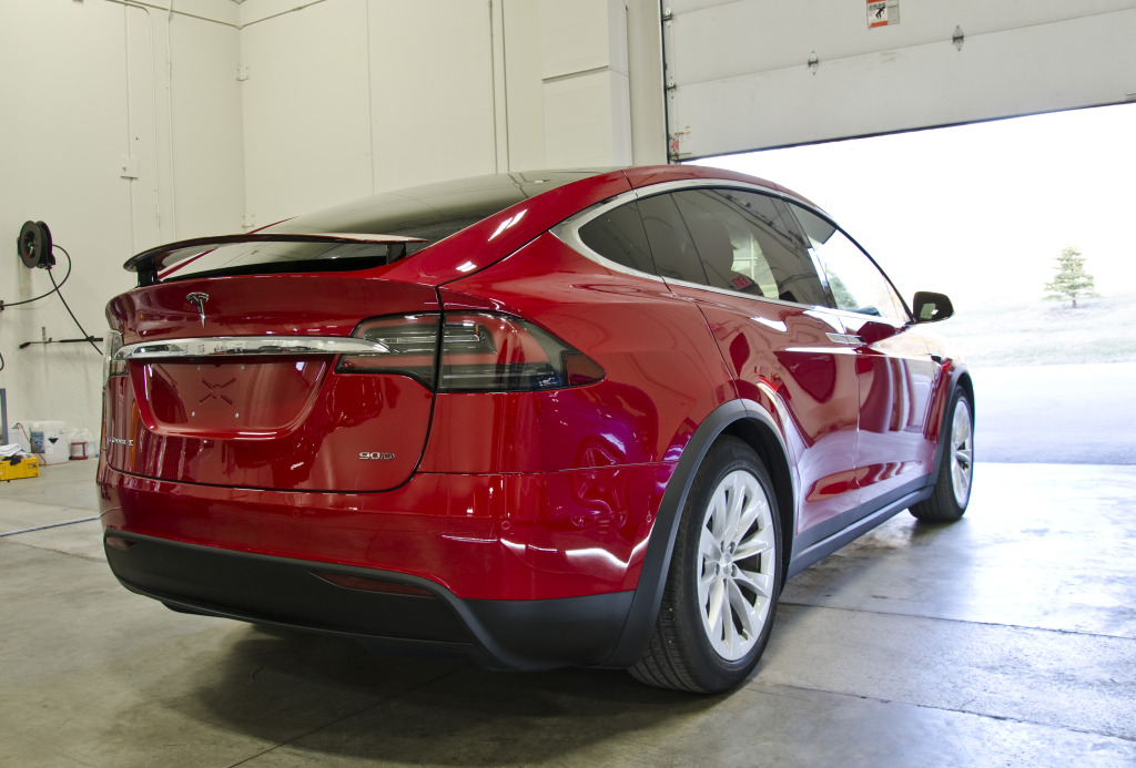 Tesla Model X Paint Correction DSC_2086